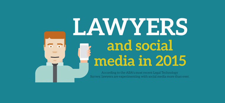 [Infographic] Lawyers and social media in 2015