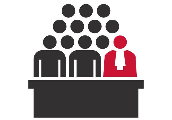 Infographies juridiques - Icônes et pictogrammes