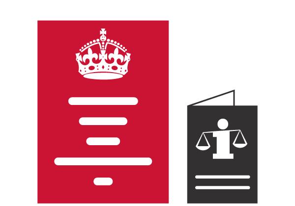 Infographies juridiques - Posters et brochures