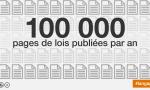 100 000 pages de lois publiées par an