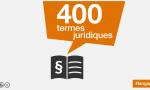 400 termes juridiques